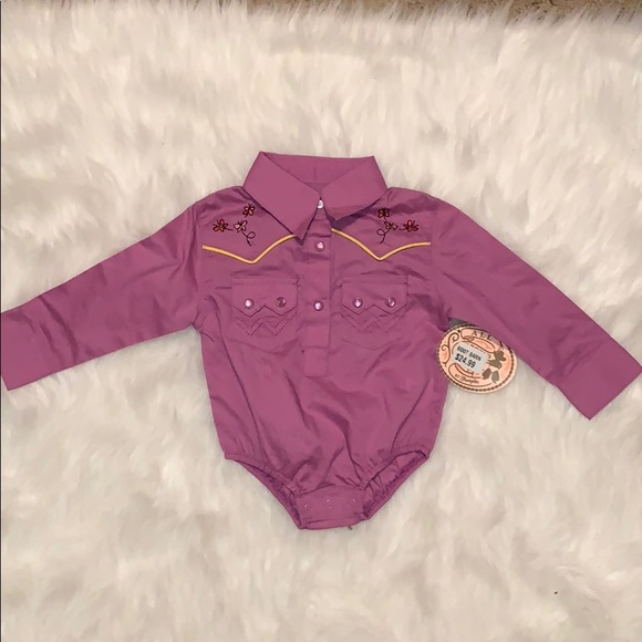 boot barn Other - Baby girls cowgirl onsie